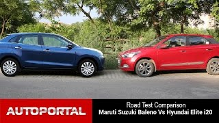 Download Maruti Suzuki Baleno Vs Hyundai Elite i20 Test Drive Comparison - Auto Portal Video