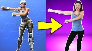 Download FORTNITE DANCES IN REAL LIFE!! Video