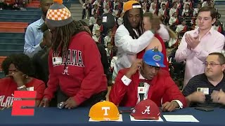 Download Mom walks out after 5th-ranked wideout Jacob Copeland commits to Florida | ESPN Video