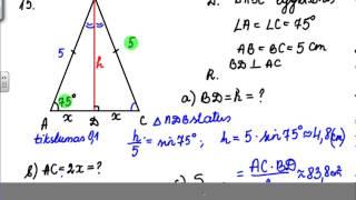 Download Stataus trikampio sprendimas Video