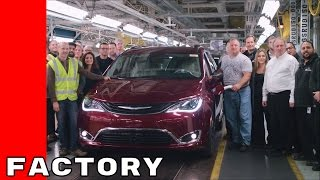 Download 2017 Chrysler Pacifica Hybrid Production Factory Video