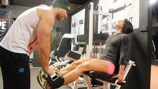 Download Killer Leg Workout with Dana Linn Bailey Video