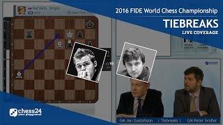 Download 2016 FIDE World Chess Championship - Magnus Carlsen vs. Sergey Karjakin - Tiebreaks Video