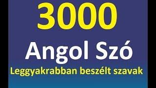 Download Angol Szavak Tanulása - A betű - 3000 Leggyakoribb Angol Beszélt Szó (Longmann összeállítása) Video