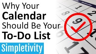 Download Why Your Calendar Should Be Your To-Do List (Task Manager) Video