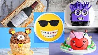 Download AMAZING CAKES : RILAKKUMA, LADYBUG, WINE BOTTLE, EVIL MINION by HANIELA'S Video