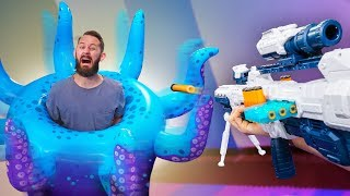 Download NERF Don't Get Trapped In The Kraken Challenge! Video