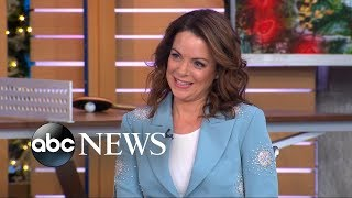Download Kimberly Williams-Paisley said her husband Brad Paisley ″stalked″ her Video