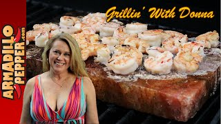 Download Tequila Shrimp on a Himalayan Salt Block | How to Make Video