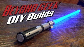Download Make Your Own Combat Ready Lightsaber - Beyond Geek DIY Builds Video