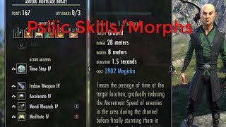 Download Psijic Order Skill Line And Morphs Summerset Isles PTS Video