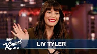 Download Liv Tyler on Living in England, Her Dad Steven Tyler & New Show Video