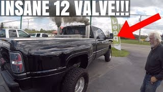 Download INSANE 2,000+ HP 12 VALVE CUMMINS DUALLY!!! Video