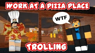 ROBLOX SYNAPSE EXPLOIT TROLLING #3 | WORK AT A PIZZA PLACE