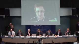 Download Edward Snowden Testimony @ Parliamentary Assembly of the Council of Europe (PACE) - 04/08/2014 Video