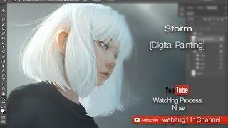 Download Storm [Digital Painting] Video