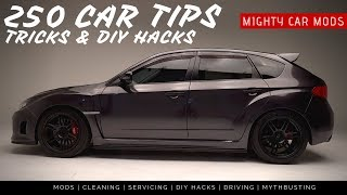 Download 250 CAR TIPS, Tricks & DIY Hacks EVERYONE NEEDS TO KNOW Video