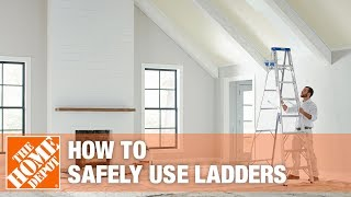 Download Safety tip for Using Ladders - The Home Depot Video