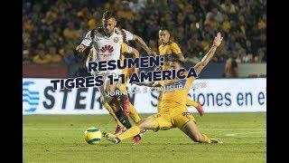 Download Resumen y goles: Tigres 1-1 América Jornada 6 Clausura 2018 Video