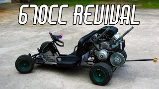 Download Reviving the 670cc Black Widow Video