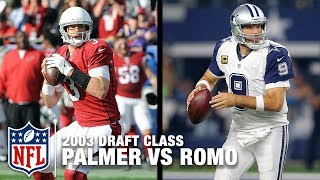 Download Carson Palmer & Tony Romo: Comparing the Top & Bottom of the 2003 Draft Class | NFL Video