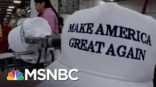 Download Inside Donald Trump's 'Make America Great Again' Hat Factory | MSNBC Video