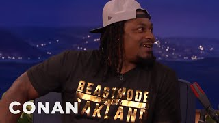 Download Marshawn Lynch Isn't Mad About That Last Super Bowl Play - CONAN on TBS Video