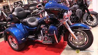 Download 2018 Harley Davidson Tri Glide Ultra 115th Anniversary - Walkaround - 2018 Toronto Motorcycle Show Video
