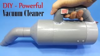 Download How to Make a Powerful Vacuum Cleaner Using 775 Motor and PVC Pipe Video