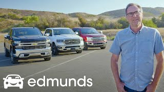 Download Ford F-150, Ram 1500 and Chevy Silverado: Battle for Pickup Truck Supremacy | Edmunds Video Video