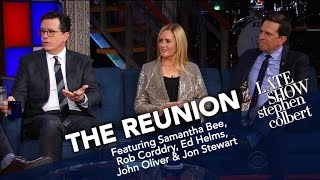 Download The Reunion: Jon Stewart And The Correspondents (Part One) Video