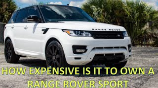 Download HOW EXPENSIVE IS IT TO OWN A RANGE ROVER ? Video