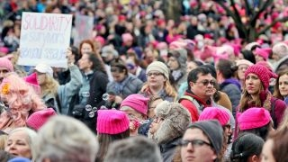 Download Do women's marches resonate outside liberal cities? Video