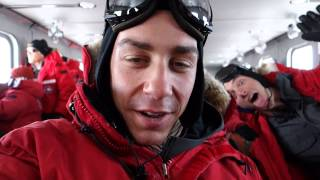 Download Flying from Christchurch to the South Pole Station, Antarctica Video