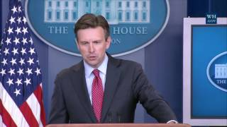 Download 8/22/16: White House Press Briefing Video