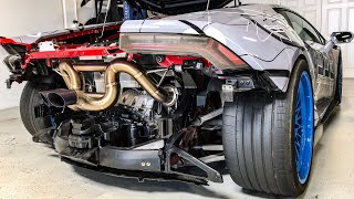 Download WHAT A $7,000 TITANIUM EXHAUST SOUNDS LIKE! * Supercharged Lamborghini * Video