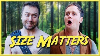 Download Size Matters - Epic NPC Man (Bodger thinks his exclamation mark is bigger than gregs) | VLDL Video