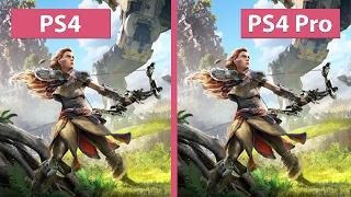 Download 4K UHD   Horizon Zero Dawn – PS4 vs. PS4 Pro 4K Mode Graphics Comparison Video