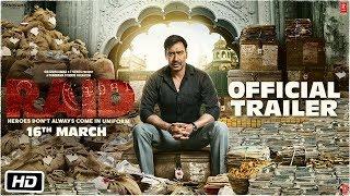 Download Raid   Official Trailer   Ajay Devgn   Ileana D'Cruz   Raj Kumar Gupta   16th March Video