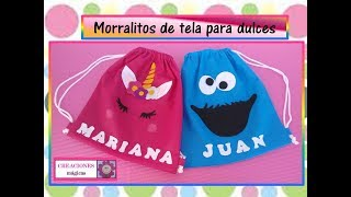 Download ♥♥ Morralitos de tela♥Creaciones mágicas♥♥ Video