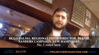Download BUSTED ON HIDDEN CAM: Sanders Staff Illegally Using NH Campaign Office Address to Vote Video
