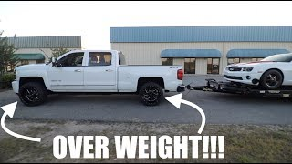 Download Can you tow on NON WEIGHT RATED tires??? Video