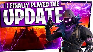 Download I FINALLY PLAYED THE NEW UPDATE! - Fortnite Battle Royale Gameplay Video