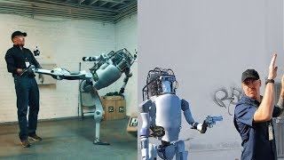 Download If Humanoid Robots Fight Back What'll Happen? Boston Dynamics: New Robots Now Fight Back Video
