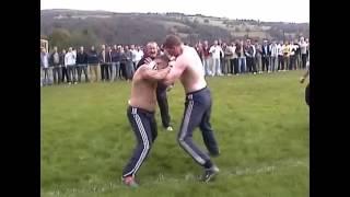 Download Bare knuckle - Boxer VS Kickboxer - Copyright Footage - Mad Frankie Fraser pick Video