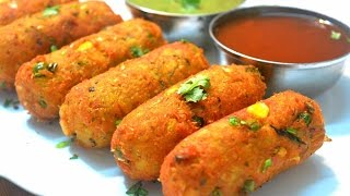 Download Corn Kebab | Crispy Corn Kebabs | Corn Cutlets | Instant Snack Recipe| Party Appetizer Video