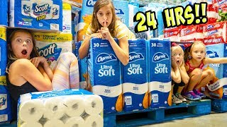 Download WE SPENT 24 HOURS OVERNIGHT AT COSTCO!! Video