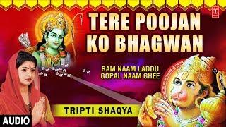 Download Tere Poojan Ko Bhagwan Ram Bhajan I TRIPTI SHAQYA I Full Audio Song I Ram Naam Laddu Gopal Naam Ghee Video
