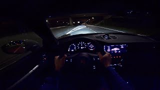 Download NEW! Porsche 911 (992) Carrera 4S NIGHT DRIVE POV by AutoTopNL Video