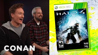 Download Conan O'Brien Reviews ″Halo 4″ - Clueless Gamer - CONAN on TBS Video